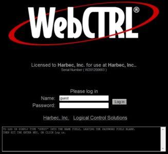 Harbec Web Control
